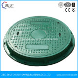 En124 B125 Waterproof Anti-Fall Net Gas Station SMC Manhole Cover