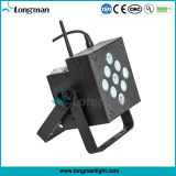 Battery Operated 9PCS 10W RGBW UL LED Mini Party Light