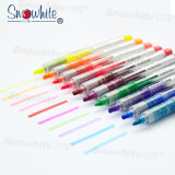 Customized Logo Adverting Promote Highlighter Pvp626 for 10 Colors Assorted