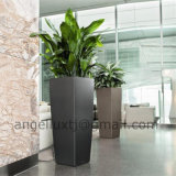 2016 New Design Stainless Steel Flower Pot for Hotel Office Hall