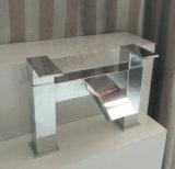 Modern Bathroom Chrome Square Bath Waterfall Mixer Tap (YQ-UK02b)