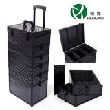 Professional Cosmetic Case with Trolley with Draws for Flight