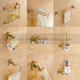 Wall Mounted Golden Bathroom Accessories