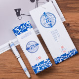 Wholesale 2017 Special Offer Blue and White Porcelain Signature Pen