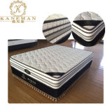 Flat Compressed Continuous Spring Mattress with High Density Foam Can Be Customized