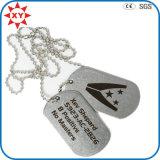 Wholesale Cheap Custom Logo Dog Tags Necklace