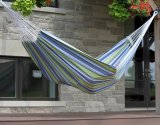 Heavy Duty Stripe Comfy Health Cotton Patio Hammock
