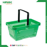 Supermarket Plastic Retail Shopping Basket 28L