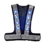 Factory Wholesale LED Flashing Reflective Vest Safety Vest