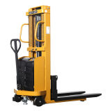 1500kg Semi-Electric Stacker with Decent Price