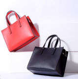 PU Designer Handbags Synthetic Leather Lady Carry Bag