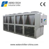 120HP Low Temperature Air Cooled Screw Water Glycol Chiller/Refrigeration Equipment