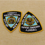 Wholesale Cheap Custom Fabric Woven Embroidery Badge