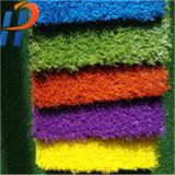 Colorful Artificial Grass Turf Stem Fiber Price for Leisure Decoration
