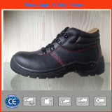 Split Embossed Leather Safety Shoes with Artificial Fur Lining (HQ05031)
