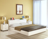 2018 Modern Style Wooden Bed