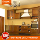 Walnut Wood Kitchen Cupboard Furniture Classic Style