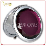 Wholesale Cheap Crystal Folding Round Metal Makeup Mirror