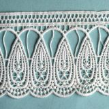 White Lace Embroidery Fabric Lace Motif