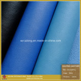 Popular Lychee Thick PU Bonded Leather for Shoes (S021)
