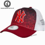 OEM Fashion Baseball Mesh Trucker Snapback Cap with Embroidery Printing