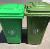 China Manufacturer Plastic Dustbin Wholesale Price 240L