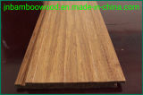 Click System Carbonized Solid Quality Indoor Strand Woven Bamboo Flooring