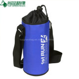 2018 Customized Custom Polyester Drawstring Insulated Bottle Cooler Bag
