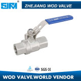 Full Bore 2PC DIN Ball Valve with Safety Element