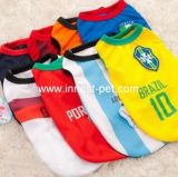 Wholesale Pet Product Football Team Dog Clothes Sports Pet Clothes