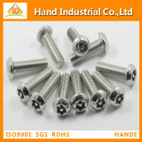 Stainless Steel Torx with Pin Button Head Security Screws