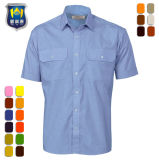 Wholesale Men Field Work Wear Short Sleeve Uniform Shirt