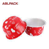 High Level Disposable Aluminum Foil Cheese Cup for Christmas Cakes