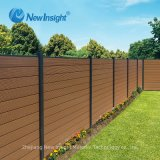 3D Online-Embossing Capped Co-Extrusion WPC Wood Plastic Composite Fence
