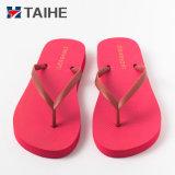 Wholesale Custom Soft Rubber Foam Slippers Flip Flops for Women