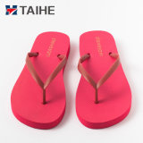 Wholesale Custom Soft Rubber Foam Slippers Plain Flip Flops for Women