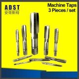 Top Quality Black and Silver HSS Spiral Flute Machine Taps