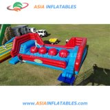 Outdoor Interactive Inflatable Wipe out Red Ball Games for Sale