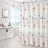 New design Modern Simple Printed Shower Curtain for Bathroom