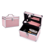 Small Aluminum Cosmetic Jewelry Gift Case for Feet Bathing