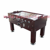 Wholesales Price Manual Coin Operated Soccer Table Games with Glass Top