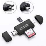 Type C & Micro USB & USB 3 in 1 OTG Card Reader High-Speed USB2.0 Universal OTG TF/SD for Android Computer Extension Headers