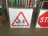 Export to Spain Solar Traffic Sign / LED Road Sign / Warning Sign