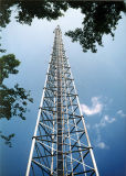 Three Legged Galvanized Self Supporting Telecommunication Steel Tower