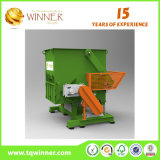 Single Shaft Shredder for Waste Rubber Cutting and Recycling Machine