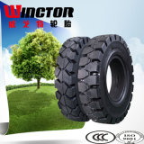 Cheap 5.00-8 Forklift Truck Tyre, Resilient Solid Tyre 5.00-8
