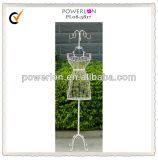 Decorative Wrought Iron Metal Female Mannequin