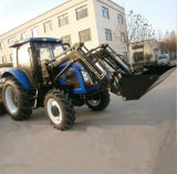 Best Price 90HP F16+R8 Gearbox Agricultural Wheel Tractor