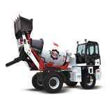 Cheap Price Self Loading Mobile 4.5 Cbm with Free Spare Parts Provided Concrete Mixer Truck