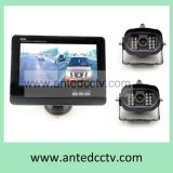 2 Wireless Waterproof Car Truck Rear View Camera with Monitor